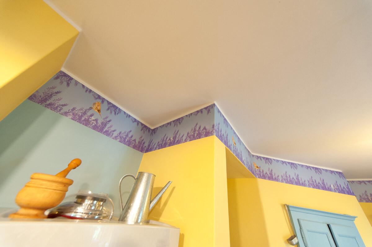 decorazione murale provenzale
